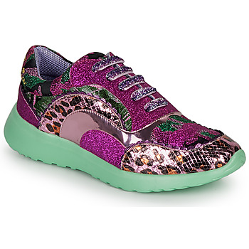 Skor Dam Sneakers Irregular Choice JIGSAW Violett