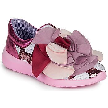 Skor Dam Sneakers Irregular Choice RAGTIME RUFFLES Rosa