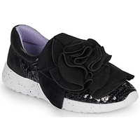 Skor Dam Sneakers Irregular Choice RAGTIME RUFFLES Svart