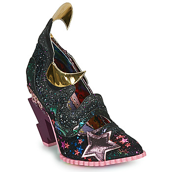 Skor Dam Pumps Irregular Choice GALACTIC THUNDER Svart