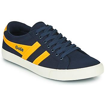 Skor Herr Sneakers Gola VARSITY Marin / Gul