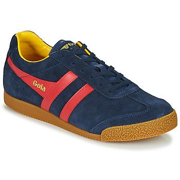 Skor Herr Sneakers Gola HARRIER Marin / Röd