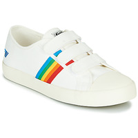 Skor Dam Sneakers Gola COASTER RAINBOW VELCRO Vit