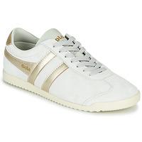 Skor Dam Sneakers Gola BULLET PEARL Vit / Guldfärgad