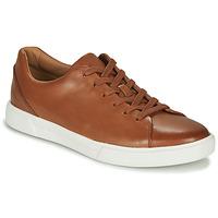 Skor Herr Sneakers Clarks UN COSTA LACE Tan (mellanbrun)