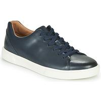 Skor Herr Sneakers Clarks UN COSTA LACE Marin