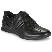 Skor Herr Sneakers Clarks UN TYNAMO TURN Svart
