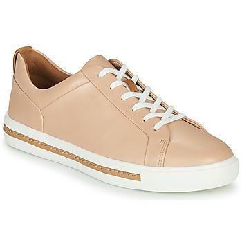 Skor Dam Sneakers Clarks UN MAUI LACE Rosa