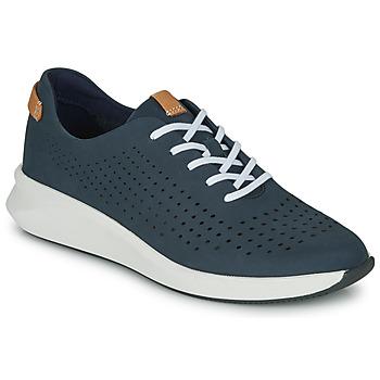 Skor Dam Sneakers Clarks UN RIO TIE Blå