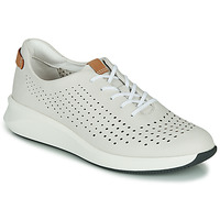 Skor Dam Sneakers Clarks UN RIO TIE Vit