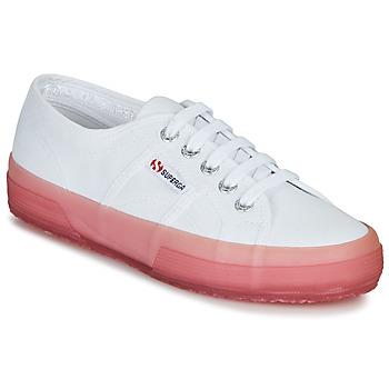 Skor Dam Sneakers Superga 2750-JELLYGUM COTU Vit