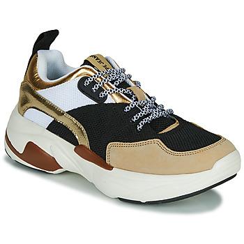 Skor Dam Sneakers Pepe jeans SINYU US Svart / Beige