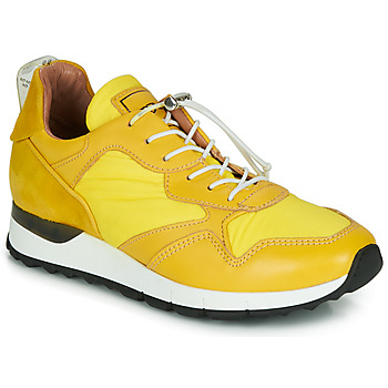 Skor Dam Sneakers Mjus CAST Gul