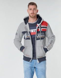 textil Herr Sweatshirts Geographical Norway FLYER Grå / Melerad