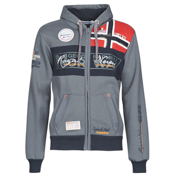 textil Herr Sweatshirts Geographical Norway FLYER Grå / Mörk