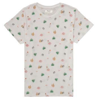 textil Flickor T-shirts Deeluxe ELINA Vit