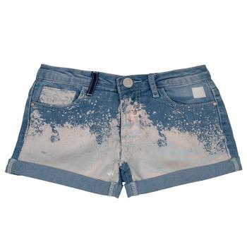 textil Flickor Shorts / Bermudas Desigual JORBA Blå