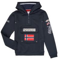 textil Pojkar Sweatshirts Geographical Norway GYMCLASS Marin