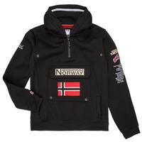 textil Pojkar Sweatshirts Geographical Norway GYMCLASS Svart