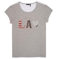 textil Flickor T-shirts Ikks ZOKO Grå