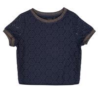 textil Flickor Blusar Ikks CLOTHILDE Marin