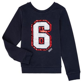 textil Flickor Sweatshirts Ikks BENEDICTE Marin