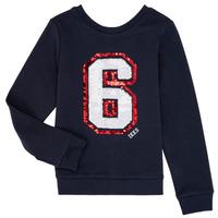 textil Flickor Sweatshirts Ikks NABIL Marin