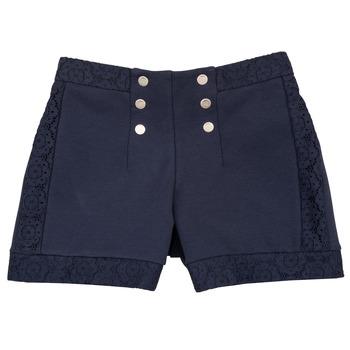 textil Flickor Shorts / Bermudas Ikks SOLISSO Marin
