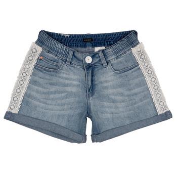 textil Flickor Shorts / Bermudas Ikks ISAHA Blå