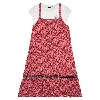 textil Flickor Korta klänningar Ikks DANIA Flerfärgad