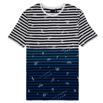 textil Pojkar T-shirts Ikks DANIELO Flerfärgad