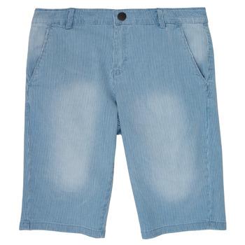 textil Pojkar Shorts / Bermudas Ikks POTALIE Blå