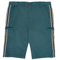 textil Pojkar Shorts / Bermudas Ikks MANUELA Blå / Grön