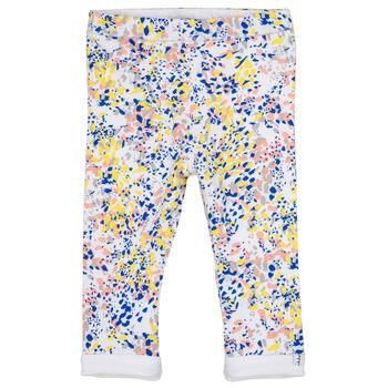 textil Flickor Leggings Ikks ELIES Vit / Flerfärgad