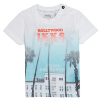 textil Pojkar T-shirts Ikks JOSIANE Vit