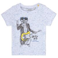 textil Pojkar T-shirts Ikks MARIO Vit