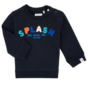 textil Pojkar Sweatshirts Ikks PAULINE Marin