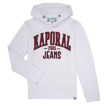 textil Pojkar Sweatshirts Kaporal EDER Vit