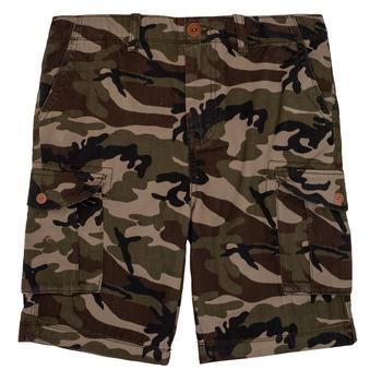 textil Pojkar Shorts / Bermudas Quiksilver CRUCIAL BATTLE Kamouflage