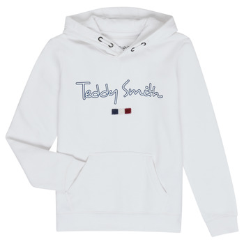 textil Pojkar Sweatshirts Teddy Smith SEVEN Vit