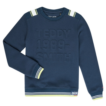 textil Pojkar Sweatshirts Teddy Smith BENET Marin