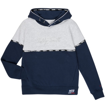 textil Pojkar Sweatshirts Teddy Smith SLOWY Marin / Grå