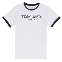 textil Pojkar T-shirts Teddy Smith TICLASS 3 Vit