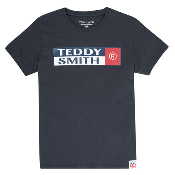 textil Pojkar T-shirts Teddy Smith TOZO Marin