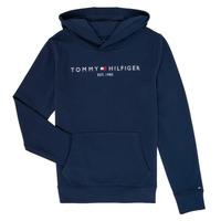 textil Pojkar Sweatshirts Tommy Hilfiger KB0KB05673 Marin