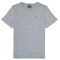 textil Pojkar T-shirts Tommy Hilfiger KB0KB04140 Grå