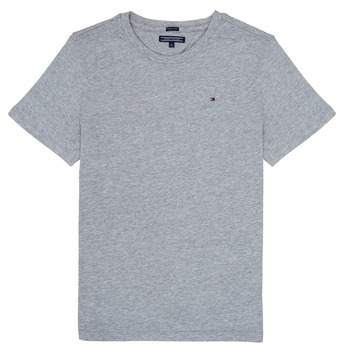 textil Pojkar T-shirts Tommy Hilfiger  Grå