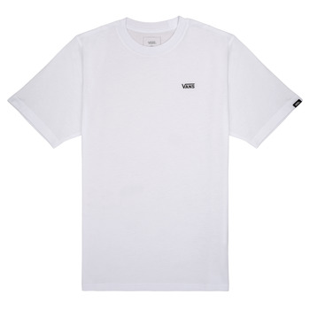 textil Pojkar T-shirts Vans BY LEFT CHEST Vit