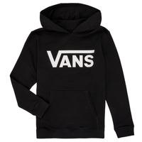 textil Pojkar Sweatshirts Vans BY VANS CLASSIC HOODIE Svart
