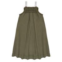 textil Flickor Korta klänningar Le Temps des Cerises BIJA Kaki